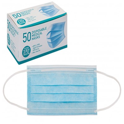 Surgical Pack of 50 Masks Type IIR