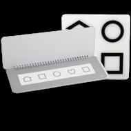 Lea Symbols® Low Contrast Test 10M