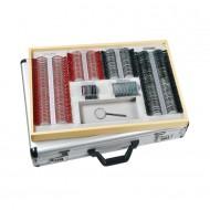 Full Aperture Trial Lens Set in Aluminium Case, Metal Rims, Coloured