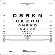 Logmar 2m ETDRS Chart 2 Original