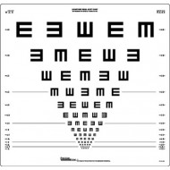 "Logmar 4m Illiterate ""E"" Chart"