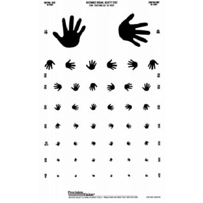 "Translucent Distance Chart ""Hand"""
