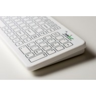 Antibacterial Flat Wireless Keyboard